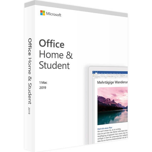 Office 2019 Home and Student für Mac