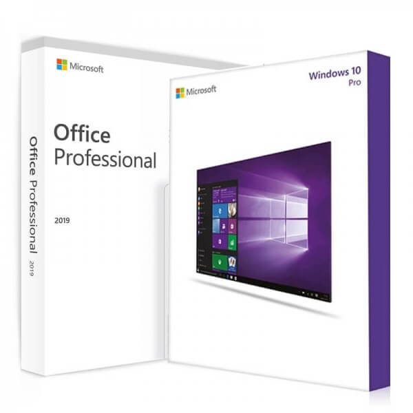 Windows 10 Pro + Office 2019 Professional