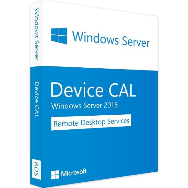 Windows Server 2016 RDS - 10 Device CALs