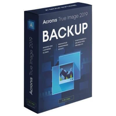Acronis True Image 2019 3 Geräte PC/MAC